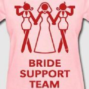 BRIDE SUPPORT T-SHIRT (PINK)